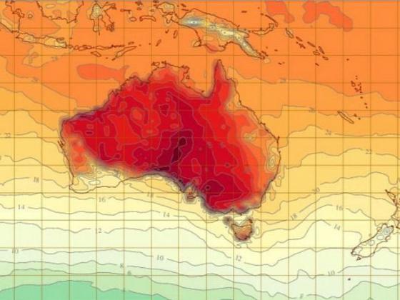 időjárás kánikula bushfire Tasmania