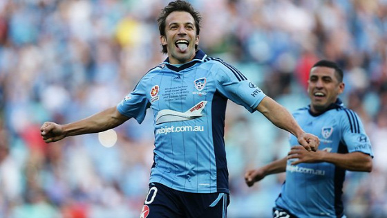 A-League Sydney FC Del Piero