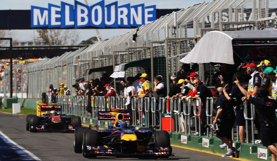 Forma-1 Melbourne Mark Webber