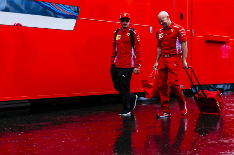 F1 Forma-1 Osztrák Nagydíj Red Bull Ring Ferrari Kimi Räikkönen Sauber Charles Leclerc Esteban Ocon
