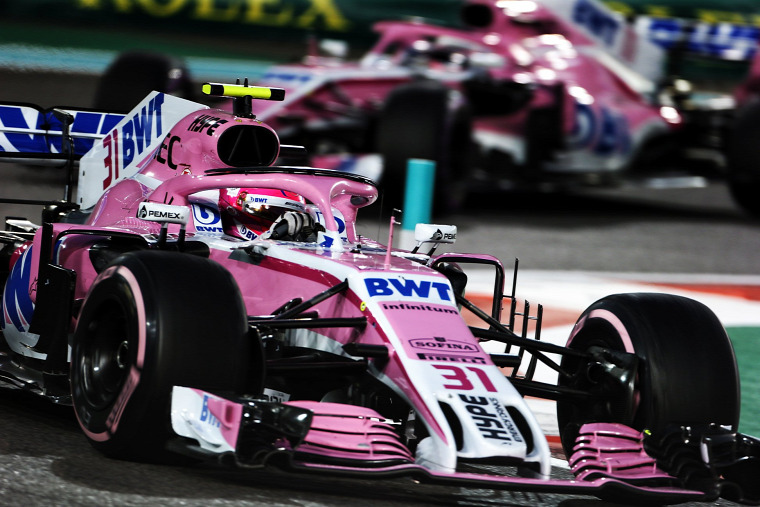 F1 Forma-1 Racing Point Force India Lawrence Stroll