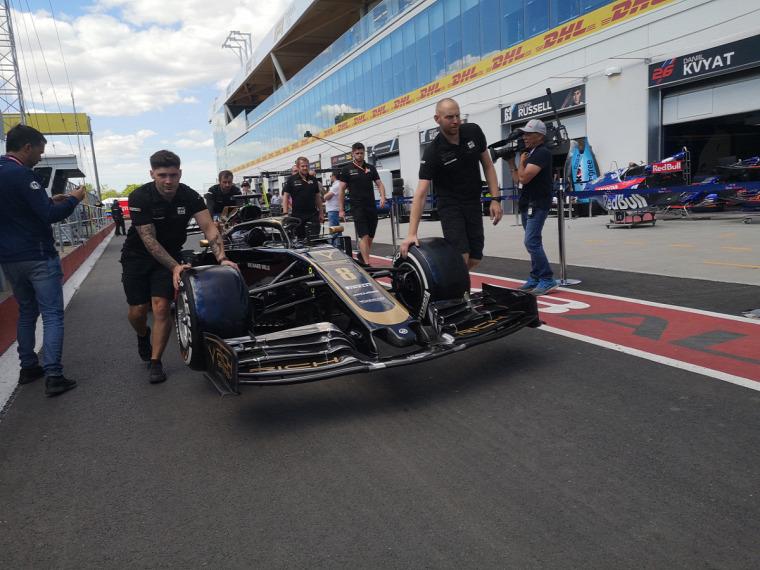 F1 Forma-1 Circuit Gilles Villeneuve Kanadai Nagydíj 2019