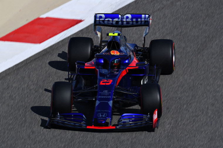F1 Forma-1 Alex Albon Toro Rosso Helmut Marko Franz Tost