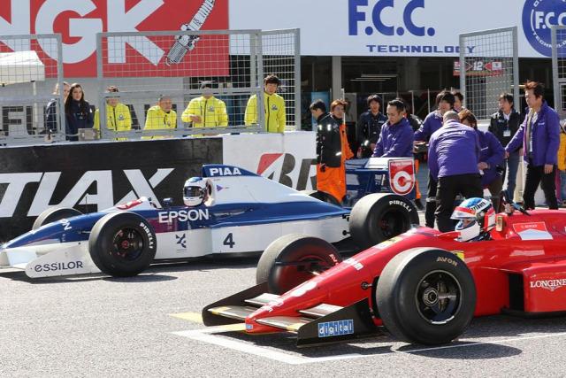 F1 Forma-1 Jean Alesi Giuliano Alesi Suzuka Ferrari Tyrrell