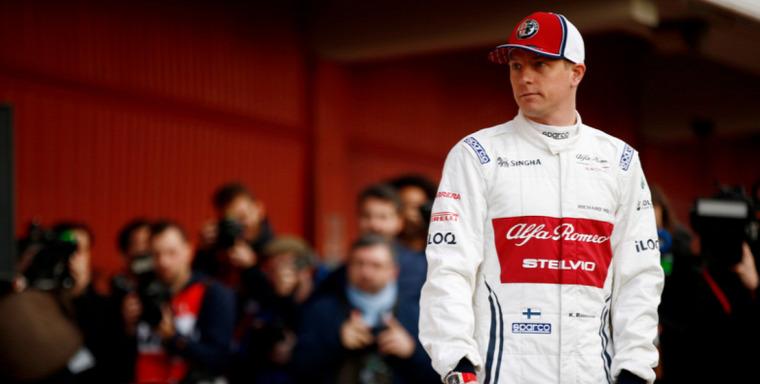 F1 Forma-1 Alfa Romeo Kimi Räikkönen