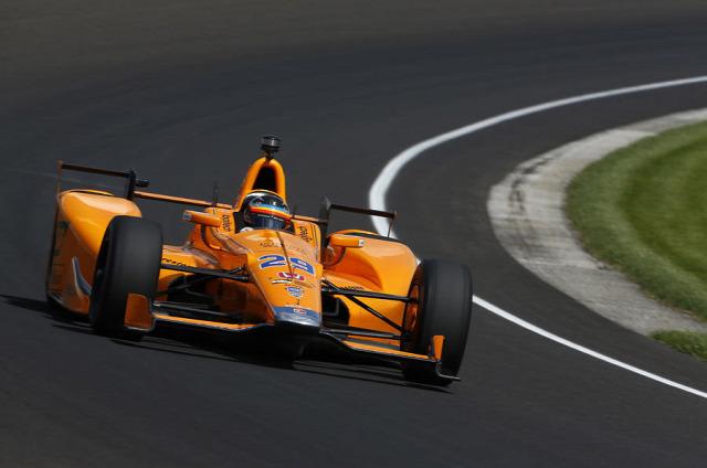 F1 Forma-1 Fernando Alonso Indianapolis 500 McLaren-Honda