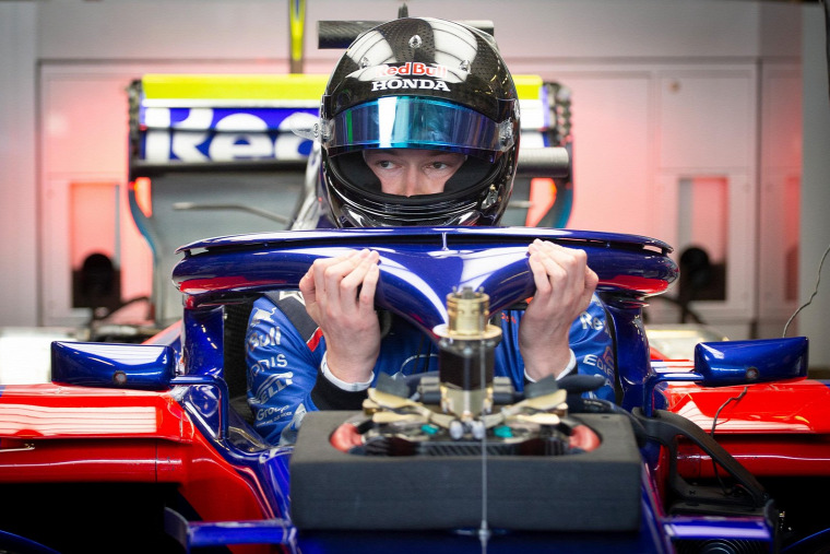 F1 Forma-1 Danyiil Kvjat Toro Rosso Robert Kubica Alex Albon Franz Tost