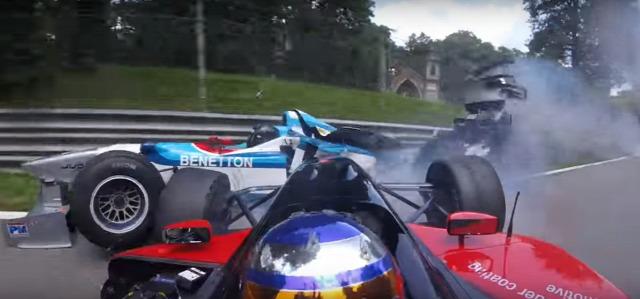 F1 Forma-1 Monza BOSS GP Baumgartner Zsolt Benetton Panoz Minardi