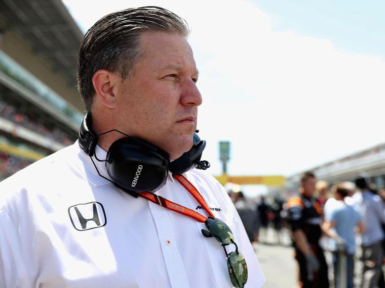 F1 Forma-1 McLaren-Honda Zak Brown Monacói Nagydíj Indianapolis 500