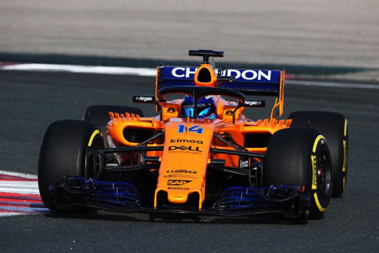 F1 Forma-1 McLaren Sergio Sette Camara