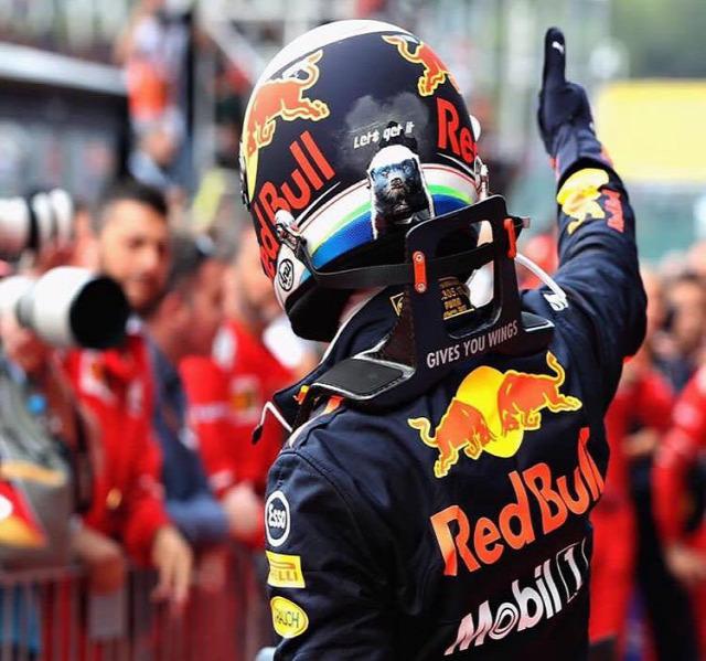F1 Forma-1 Daniel Ricciardo Red Bull Racing Ferrari Max Verstappen