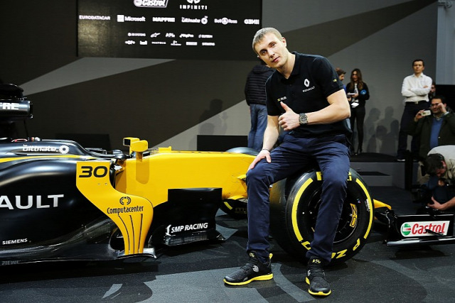 F1 Forma-1 Vlagyimir Putyin Renault Szergej Szirotkin Orosz Nagydíj