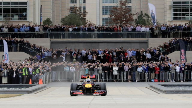 F1 Forma-1 Red Bull ExxonMobil Houston Daniel Ricciardo