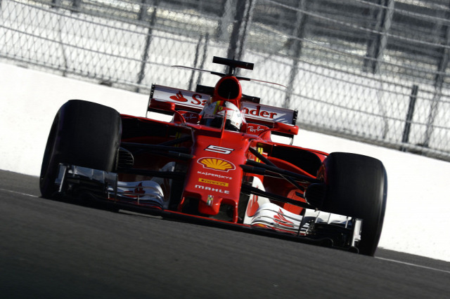 F1 Forma-1 Sebastian Vettel Kimi Räikkönen Ferrari Orosz Nagydíj
