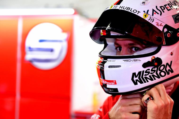 F1 Forma-1 Sebastian Vettel Ferrari Lewis Hamilton Mercedes Heinz-Harald Frentzen