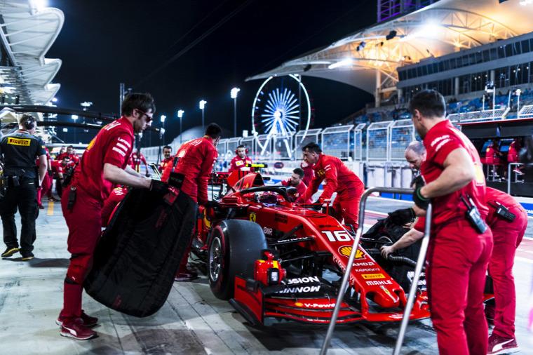 F1 Forma-1 Bahreini Nagydíj 2019 Louis Camilleri Ferrari Mattia Binotto Charles Leclerc Sebastian Vettel