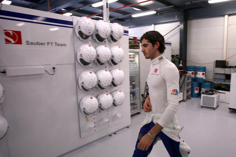 F1 Forma-1 Antonio Giovinazzi Sauber Pascal Wehrlein Monisha Kaltenborn Ferrari