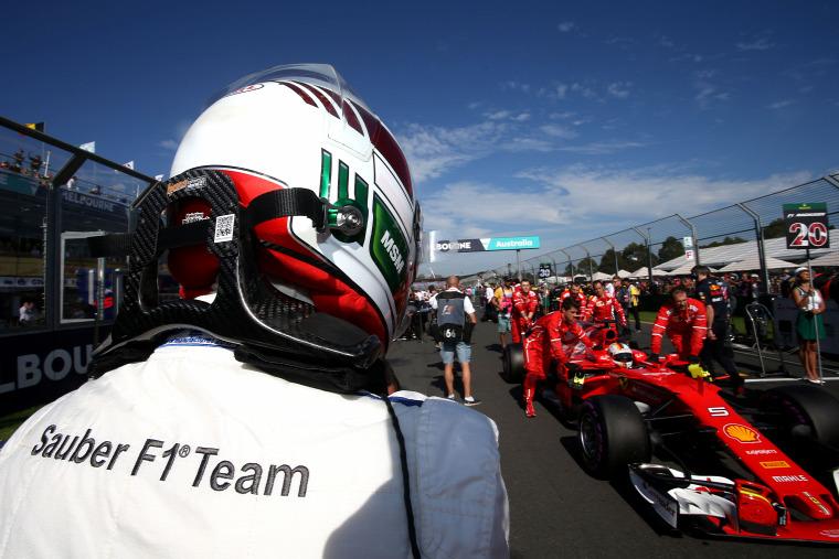 F1 Forma-1 Antonio Giovinazzi Sauber Ferrari Kimi Räikkönen Cesare Fiorio Ausztrál Nagydíj Vitantonio Liuzzi