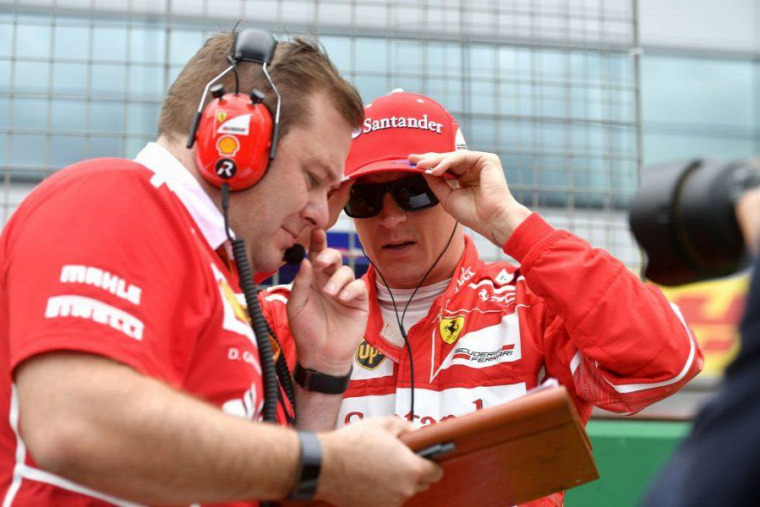 F1 Forma-1 Ferrari Kimi Räikkönen Dave Greenwood Carlo Santi Azerbajdzsáni Nagydíj