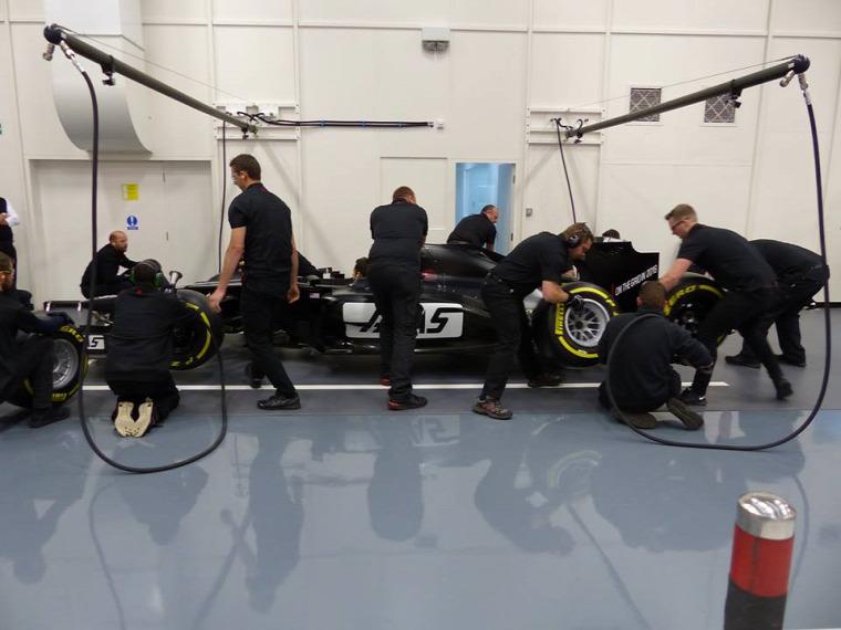 F1 Forma-1 Haas F1 Team Günther Steiner Romain Grosjean Esteban Gutierrez Gene Haas