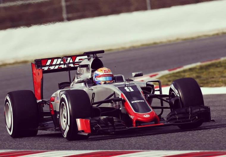 F1 Forma-1 Haas F1 Team Gene Haas Romain Grosjean Esteban Gutierrez