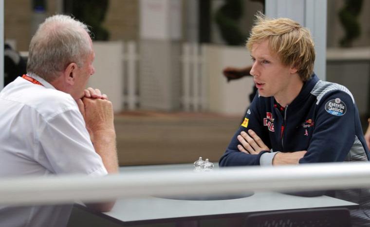 F1 Forma-1 Toro Rosso Brendon Hartley Hungaroring Magyar Nagydíj Helmut Marko