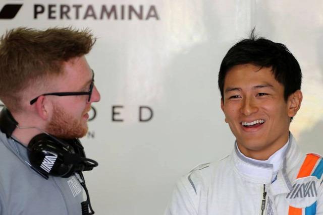 F1 Forma-1 Rio Haryanto Manor