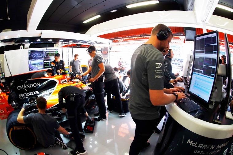 F1 Forma-1 Mercedes McLaren-Honda Honda Spanyol Nagydíj