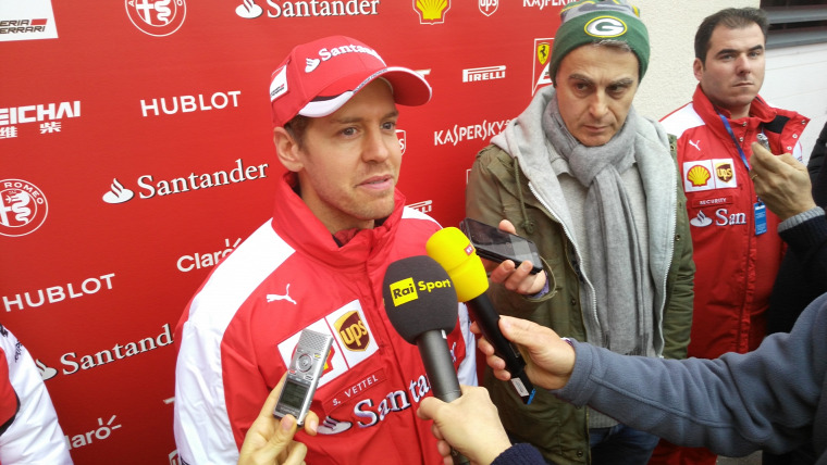F1 Forma-1 Sebastian Vettel Ferrari Pirelli Le Castellet Paul Ricard