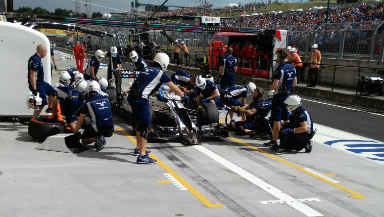 F1 Forma-1 Williams Valtteri Bottas Hungaroring Magyar Nagydíj