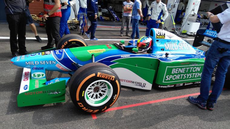 F1 Forma-1 Mick Schumacher Michael Schumacher Spa-Francorchamps Benetton Belga Nagydíj