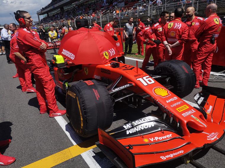 F1 Forma-1 Louis Camilleri Ferrari Spanyol Nagydíj 2019 John Elkann Maurizio Arrivabene