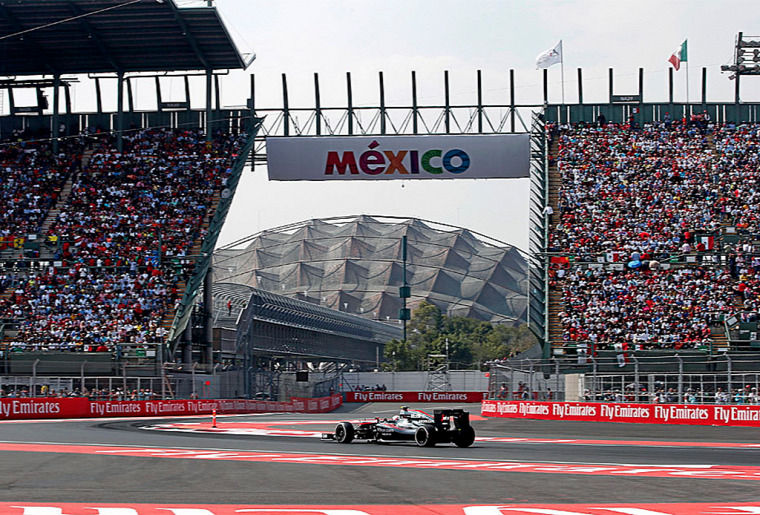 F1 Forma-1 Mexikói Nagydíj 2019 Mexikóváros Autodromo Hermanos Rodriguez Sergio Perez Lewis Hamilton