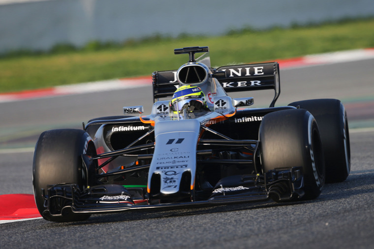 F1 Forma-1 Force India Vijay Mallya Sergio Perez Esteban Ocon