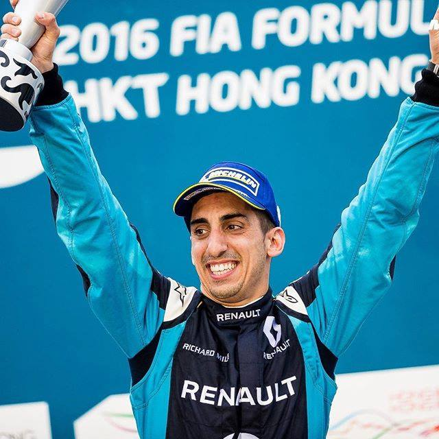 F1 Forma-1 Jolyon Palmer Renault Cyril Abiteboul Jonathan Palmer Azerbajdzsáni Nagydíj