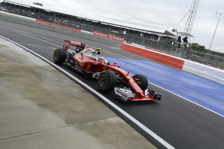 F1 Forma-1 Kimi Räikkönen Ferrari Steve Robertson Brit Nagydíj Maurizio Arrivabene