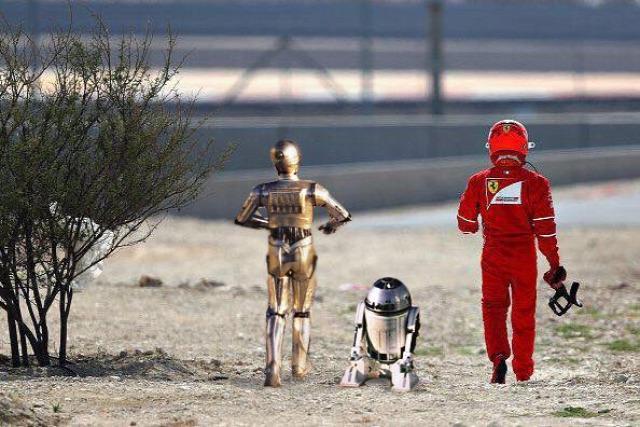 F1 Forma-1 Kimi Räikkönen Ferrari Bahreini Nagydíj