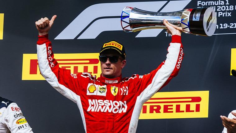 F1 Forma-1 Kimi Räikkönen Ferrari USA Nagydíj Pirelli