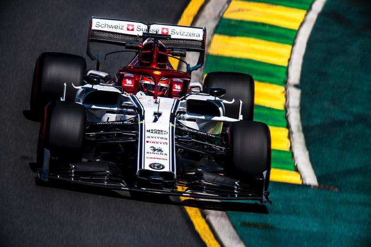 F1 Forma-1 Kimi Räikkönen Alfa Romeo Rubens Barrichello Bahreini Nagydíj 2019