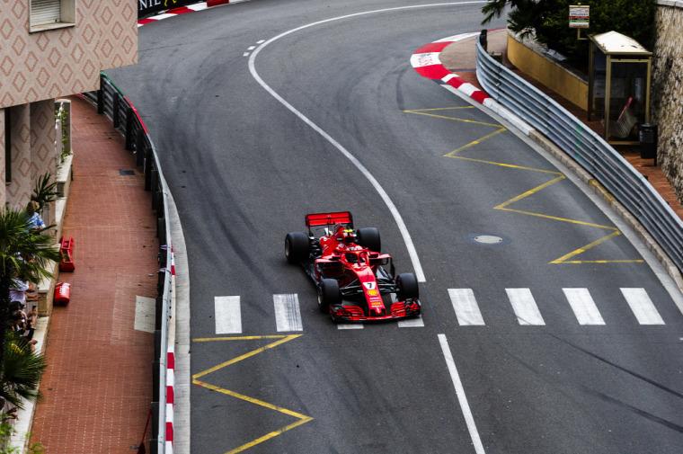 F1 Forma-1 Kimi Räikkönen Ferrari Tommi Mäkinen WRC rali-vb Monacói Nagydíj