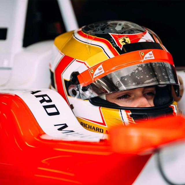 F1 Forma-1 Charles Leclerc Jules Bianchi Haas F1 Team Ferrari GP3