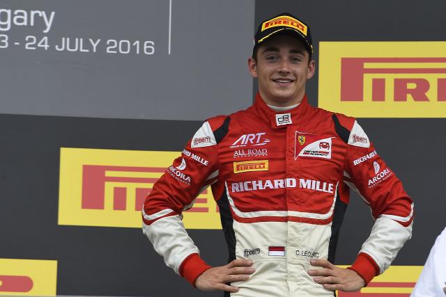 F1 Forma-1 Charles Leclerc Jules Bianchi Nicolas Todt Ferrari GP3