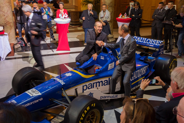 F1 Forma-1 Olivier Panis Ligier Mugen-Honda Monacói Nagydíj