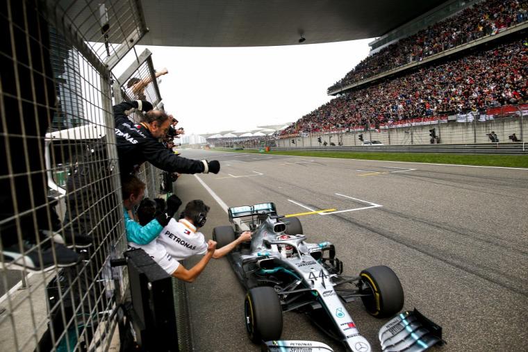 F1 Forma-1 Mercedes Margarita Torres Diez Lewis Hamilton