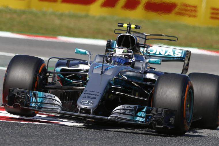 F1 Forma-1 Mika Häkkinen Valtteri Bottas Mercedes Spanyol Nagydíj