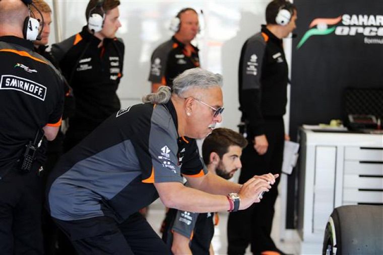 F1 Forma-1 Force India Vijay Mallya