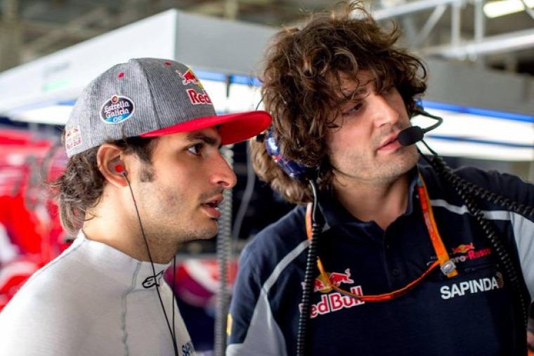 F1 Forma-1 Marco Matassa Carlos Sainz Toro Rosso