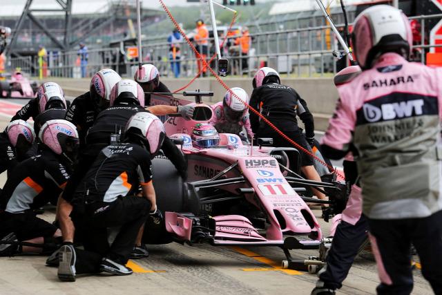 F1 Forma-1 Sergio Perez Force India Andrew McLaren Hungaroring Magyar Nagydíj