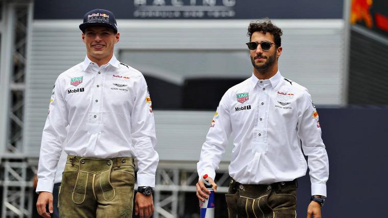 F1 Forma-1 Max Verstappen Jos Verstappen Dietrich Mateschitz Carlos Sainz Ferrari Red Bull Osztrák Nagydíj