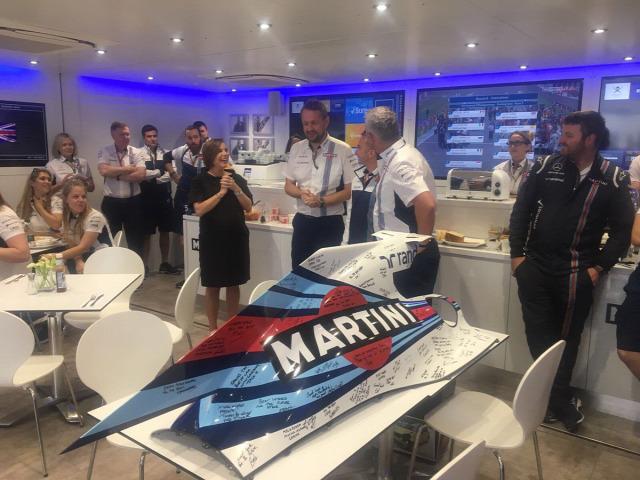 F1 Forma-1 Ross Brawn Steve Nielsen Williams Brit Nagydíj